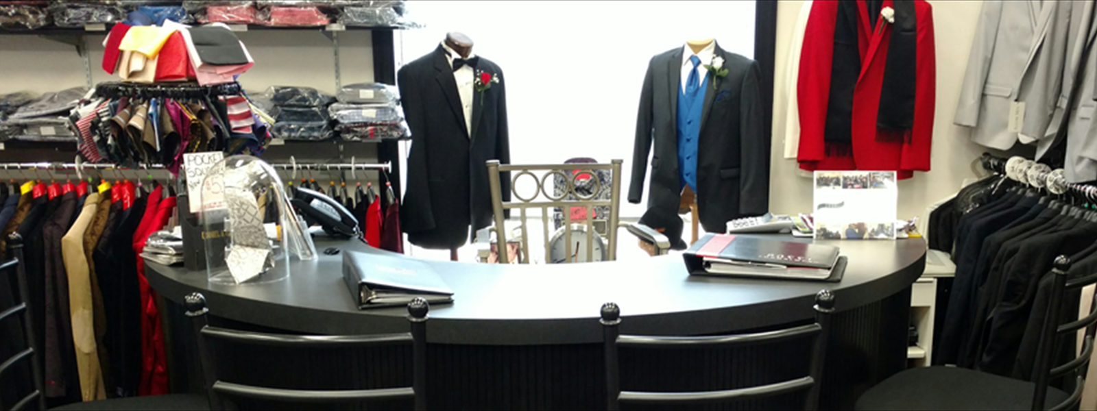Award Winning Formal Wear Department